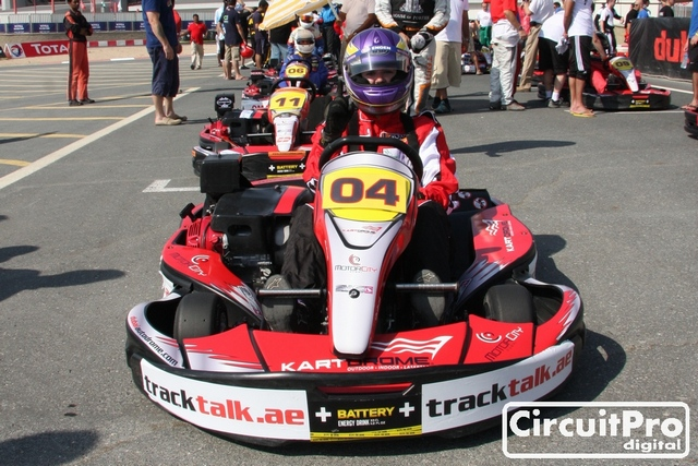 24hrs Endurance Karting proves mixed results for Tracktalk team in Dubai