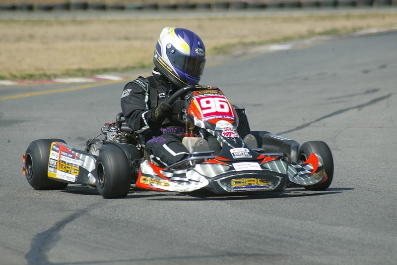 Rotax DD2 rd 5 – Fabienne achieves a Pole Position start and hard fought podium at Vereeniging