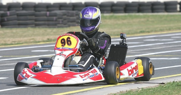 Fabienne takes class win as she excels in debut shifter race with new 125GP kart at Vereeniging