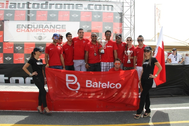 Podium for Fabienne with Batelco Racing in gripping Dubai 12hr endurance race