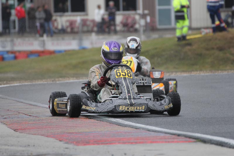Fabienne suffers technical woes in opening round of Rotax Euro Championship in Salbris