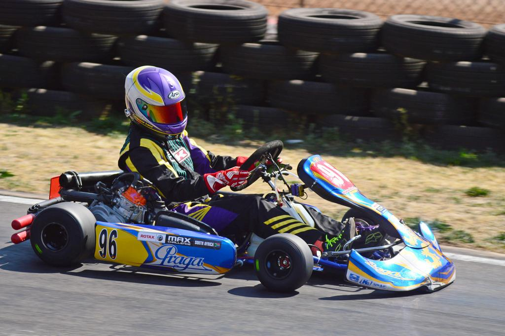 Fabienne takes historic double wins in Rotax Senior Max and DD2